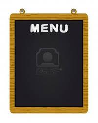 designing a restaurant menu